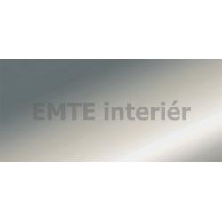 Prechodový profil samolepiaci 40 mm - strieborný matný