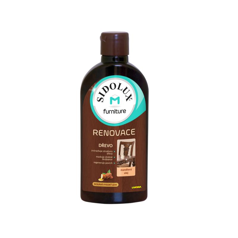 SIDOLUX M mlieko na nábytok s vôňou MANDĽA