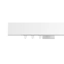 Hranatá garniža TOP LINE - Square biela