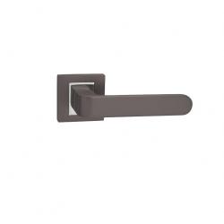 Interiérová kľučka BISKIT titán/chróm