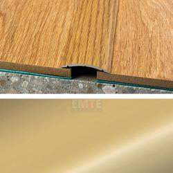 Prechodový profil samolepiaci 40x5 mm - zlato