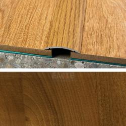Prechodový profil samolepiaci 40x5 mm - orech regia