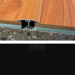 Prechodový profil natĺkací 40 mm - čierna matná