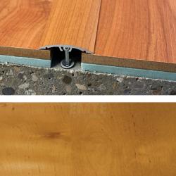 Prechodový profil natĺkací 40 mm - jelša domestica