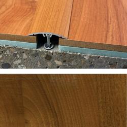 Prechodový profil natĺkací 40 mm - orech regia