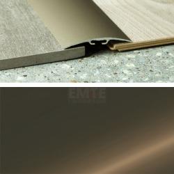 Prechodový profil samolepiaci 100x6,5 mm - bronz