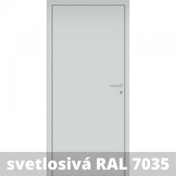 Interiérové dvere Baseline so zárubňou a kľučkou - RAL 7035