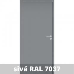 Interiérové dvere Baseline so zárubňou a kľučkou - RAL 7037