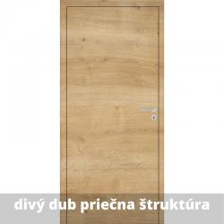 Interiérové dvere Baseline so zárubňou a kľučkou - divý dub