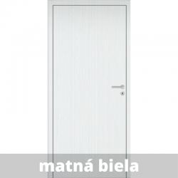 Interiérové dvere Baseline so zárubňou a kľučkou - matná biela