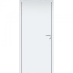Interiérové dvere Baseline bezfalcové so zárubňou a kľučkou - biele