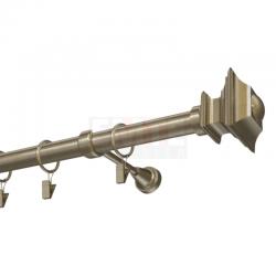 Kovová garniža Verdi - antik