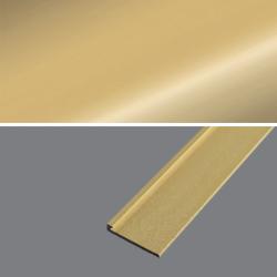 Ukončovací profil 21x3,5, hrúbka 2 mm - zlato