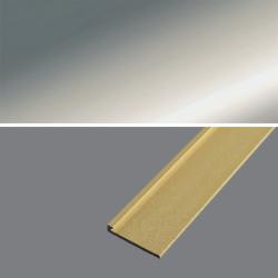 Ukončovací profil 21x4,5, hrúbka 3 mm - striebro