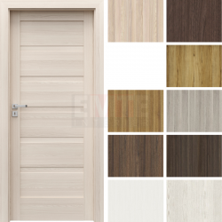 Interiérové dvere so zárubňou Verte Home H.0