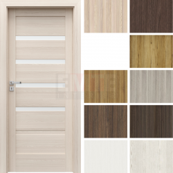 Interiérové dvere so zárubňou Verte Home H.4