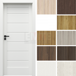 Interiérové dvere so zárubňou Verte Home J.0