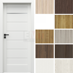 Interiérové dvere so zárubňou Verte Home J.1